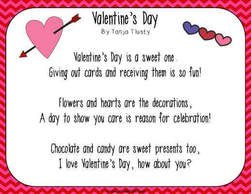 kid valentine poems poems, Ideas
