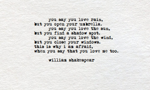 Shakespeare Love Quotes Magnificent Shakespeare Love Poems