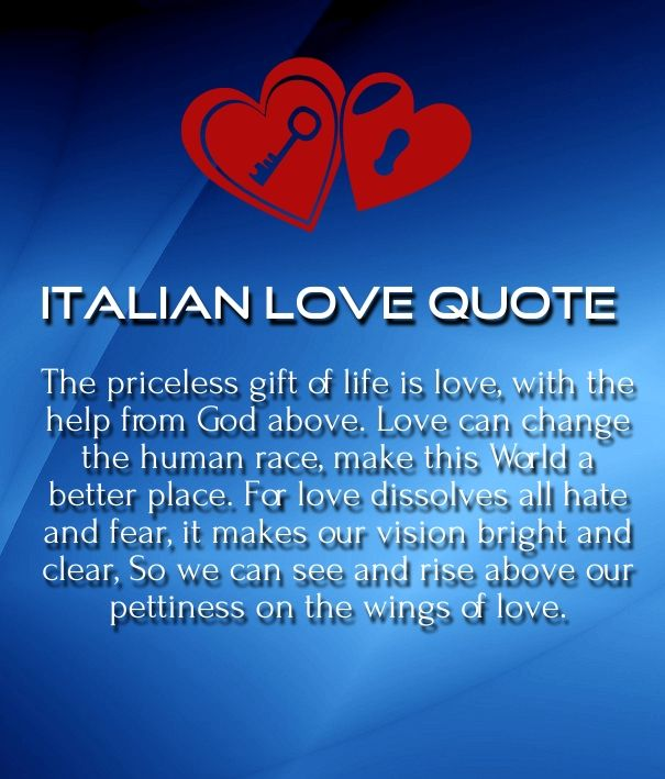 Italian Quotes About Life Brilliant Italian Love Poems