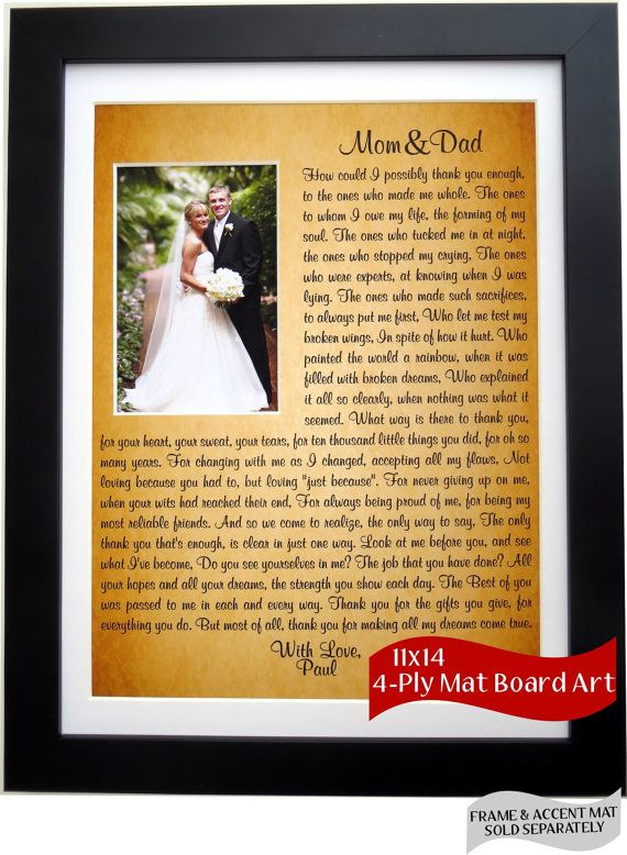 Gifts for parents wedding thank you choice image wedding thank you to mom and dad for wedding unique wedding ideas thecheapjerseys Image collections