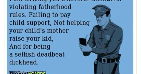 Quote About Deadbeat Dads: Deadbeat Dad Poems