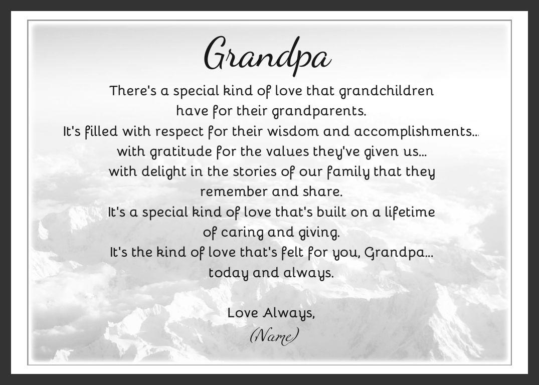 I Love My Granddaughter Quotes Grandpa Poems