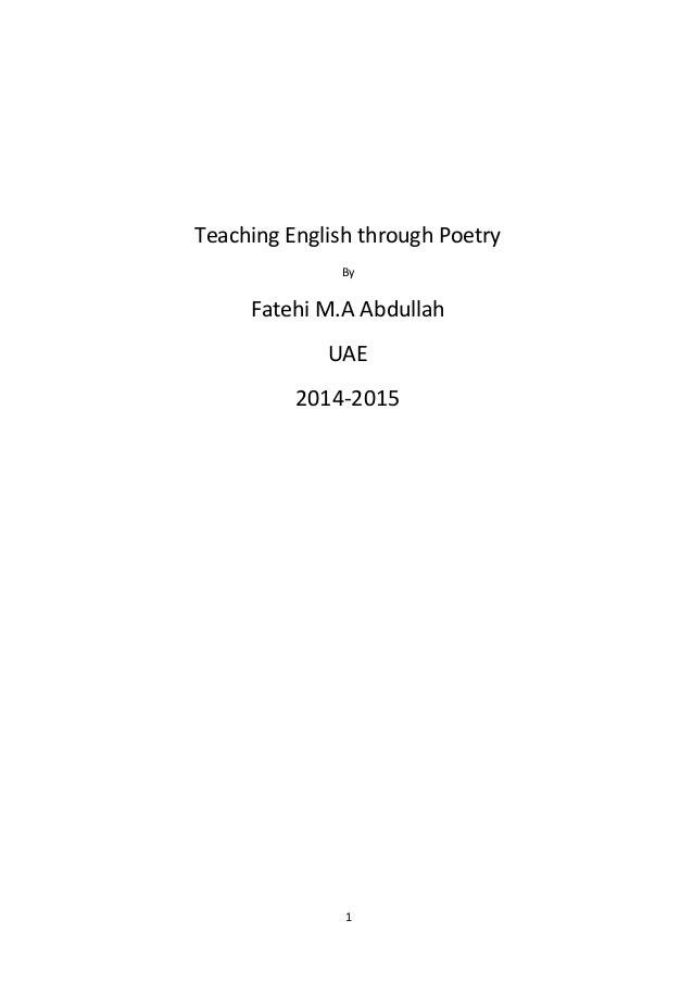 Short Meaningful Poems