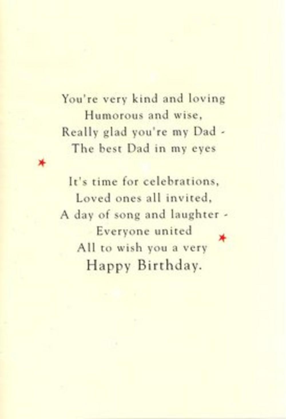 Uncle Birthday Poetry In Motion Card Cards Love Kates