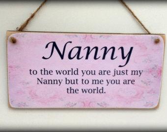 Nanny Poems