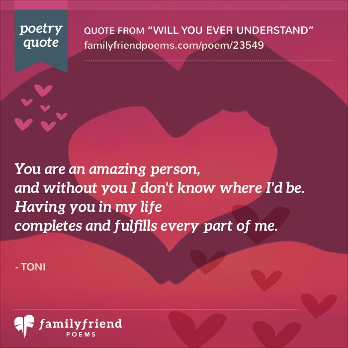 Being in love Poems