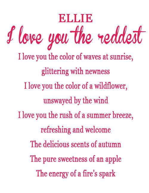 Kid Love Poems