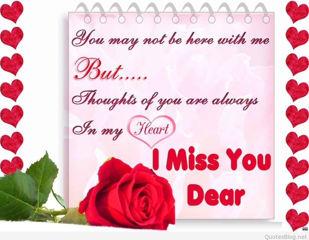 Missing You Love Quotes For Her I Miss You Love Poems