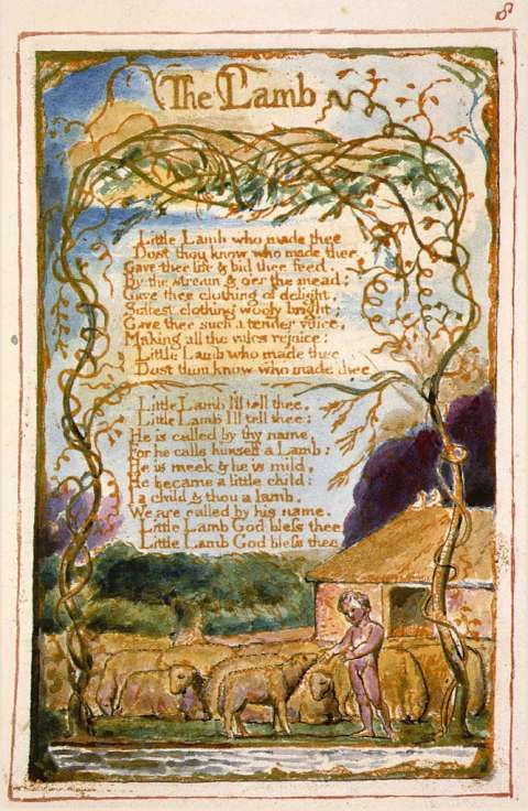 an analysis of the topic of the lamb by william blake This lesson explains the poem 'the lamb' by william blake its symbolism and themes are described, as well as the higher meaning intended by the.