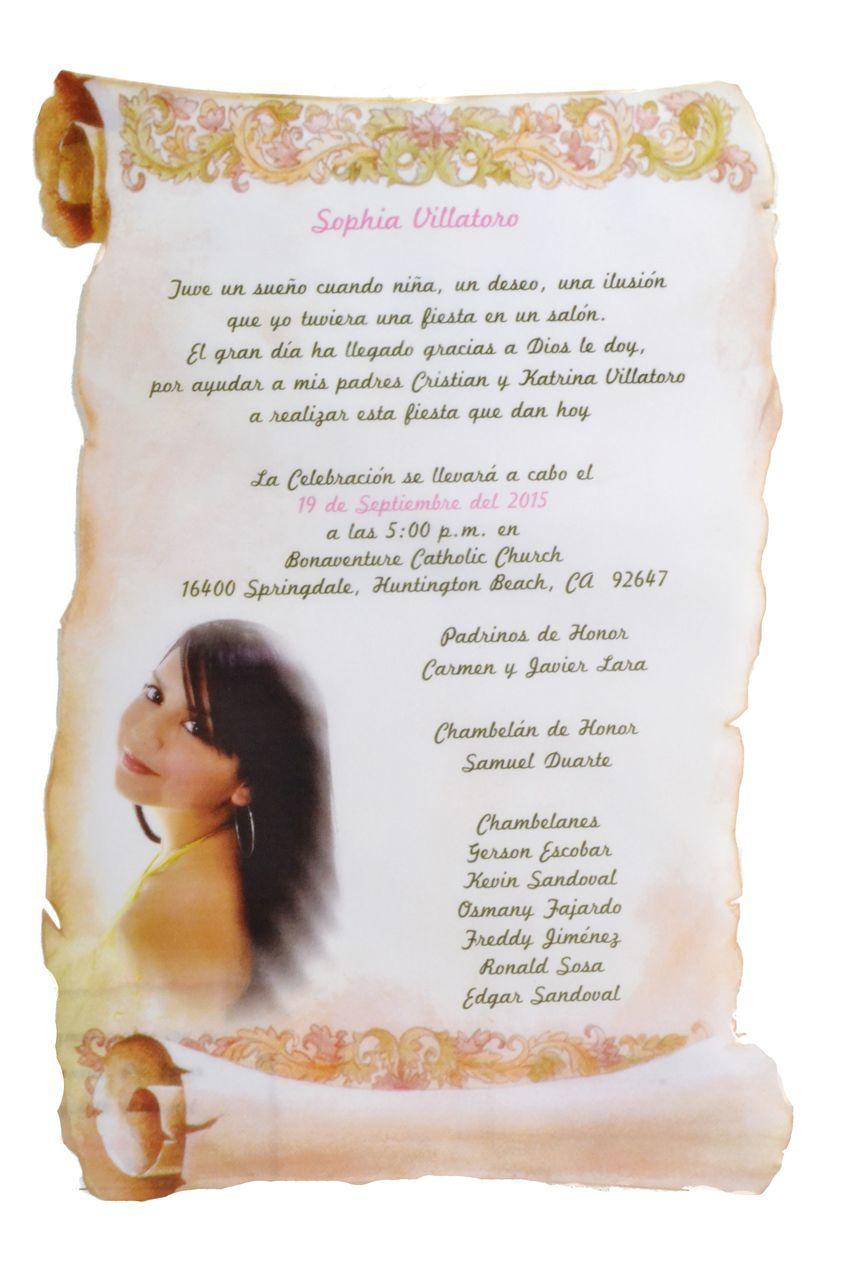 Quinceanera Poems Poems
