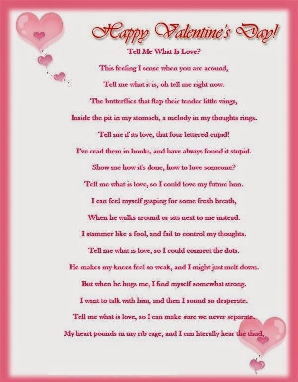 cute valentine poems
