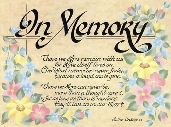 Inspirational Quotes About Death Of A Loved One Fascinating In Remembrance Poems Poems