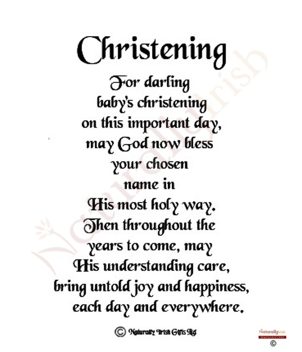 Christening poems poems bible quotes for baptism quotesgram altavistaventures Images
