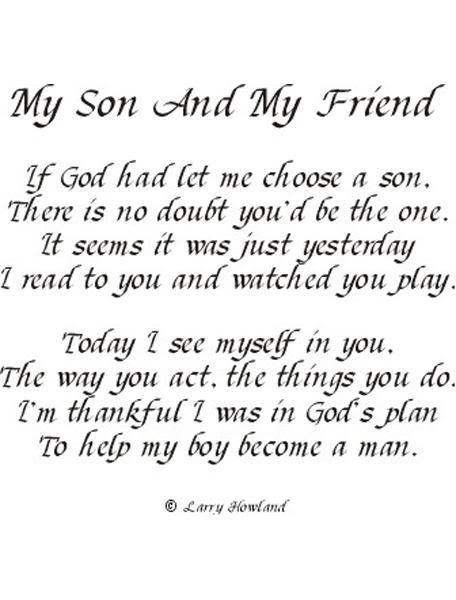 I Love My Son Quotes And Sayings Classy I Love My Son Poems
