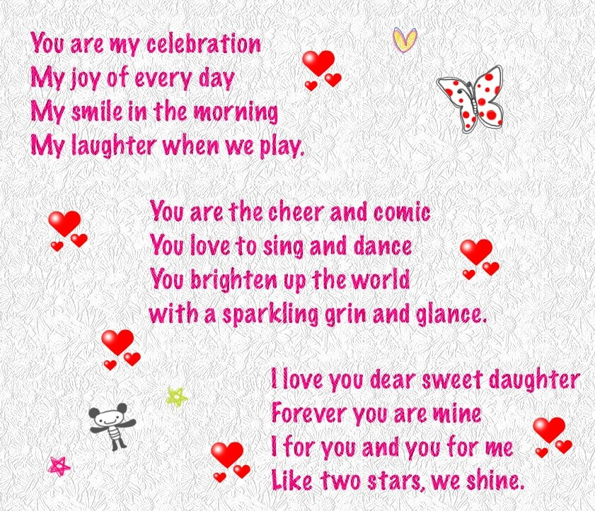 Beautiful Sweet Valentine Poems For Her Gallery - Valentine Gift ...