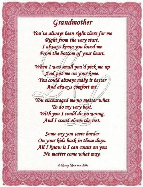 Great grandmother Poems