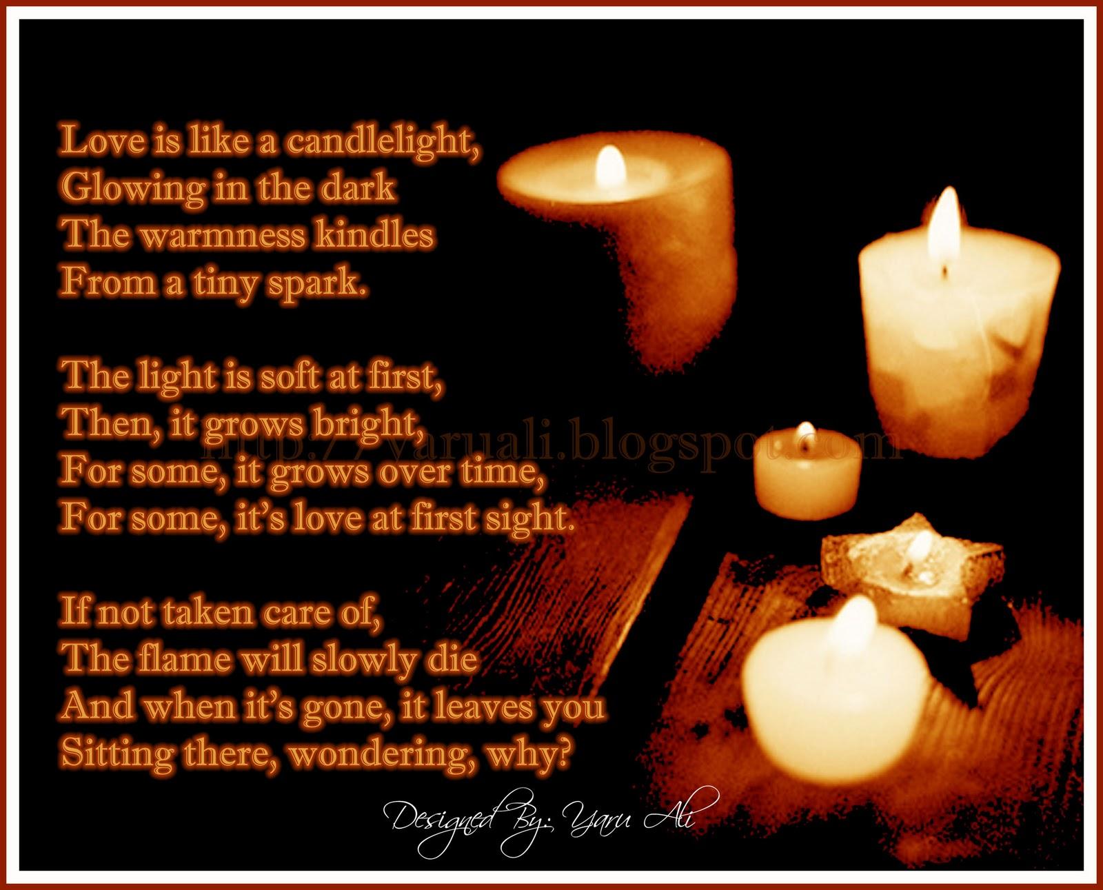 Candle lighting poems aloadofball Choice Image