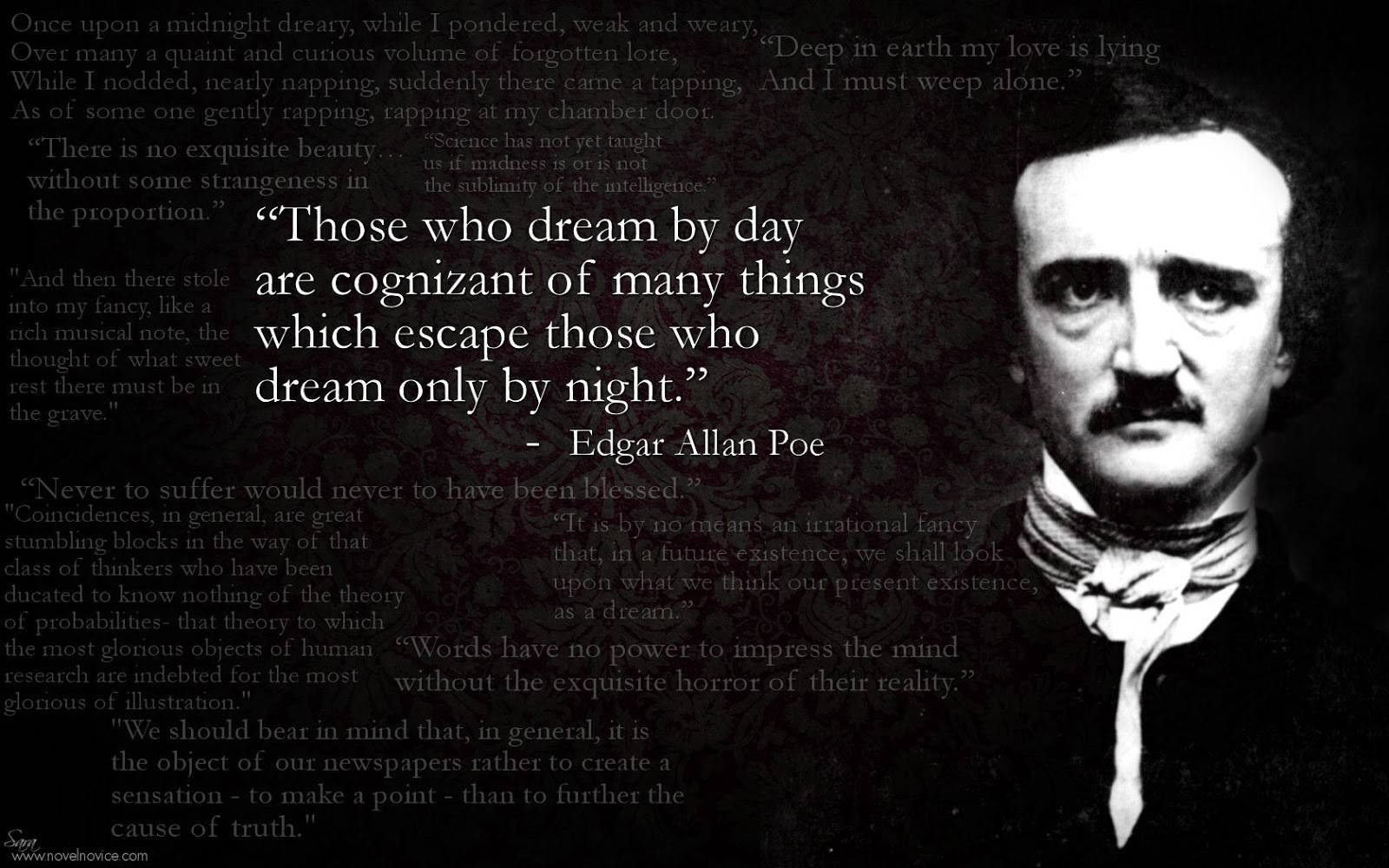 Edgar Allan Poe Life Quotes Stunning Edgar Allan Poe Best Poems