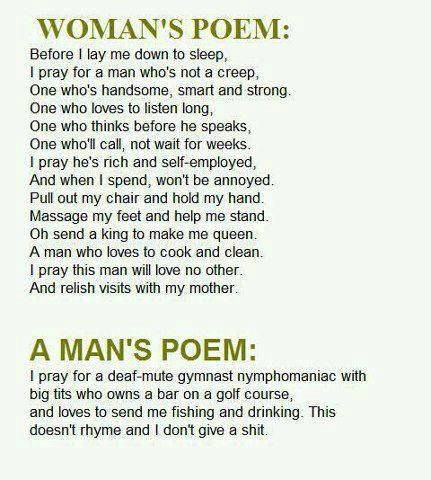 Funny Marriage Poems