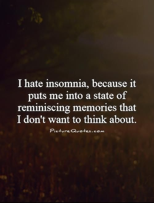 Quotes About Insomnia Magnificent Insomnia Poems Poems
