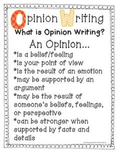 opinion poems