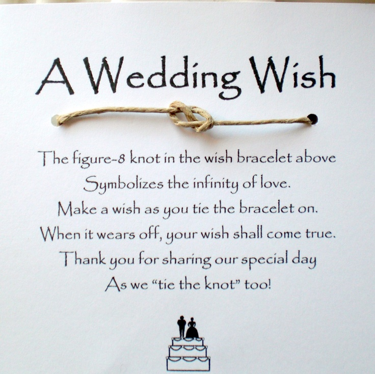 Wedding Favor Poems