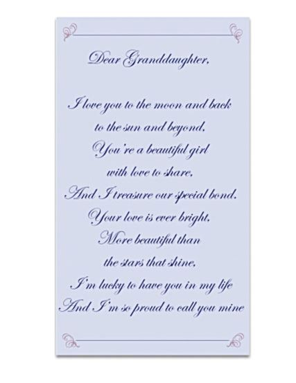I Love My Granddaughter Quotes Fascinating Grandma And Granddaughter Poems
