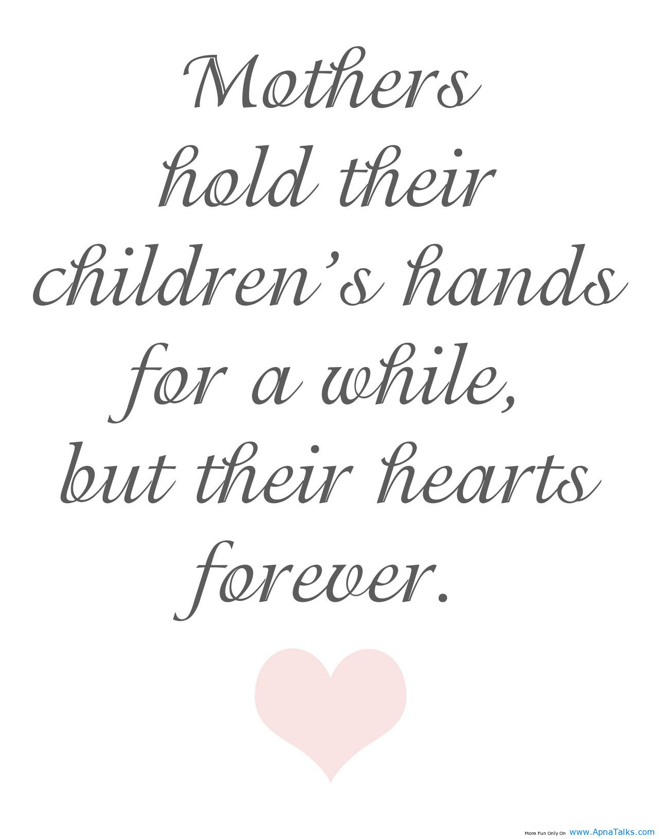 Love For Childrens Quotes Mothers Day Love Poems