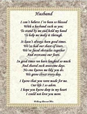 Husband funeral Poems