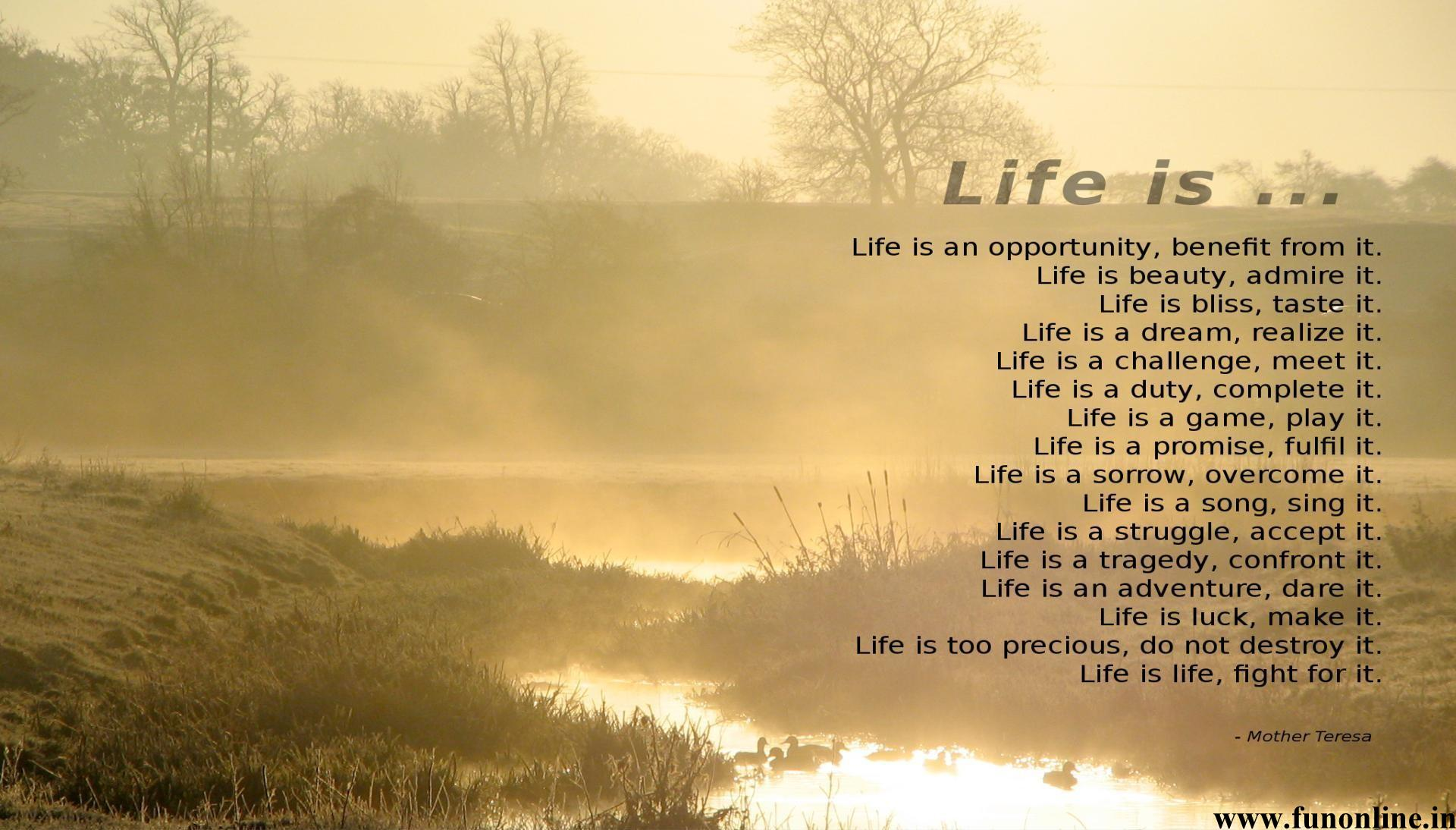 Inspirational Life Quotes And Sayings Inspirational Life Poems