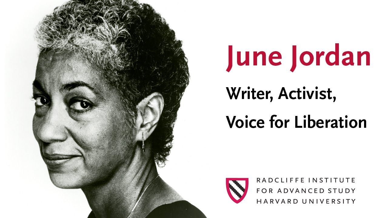analysis poem about my rights june jordan Every now and then, as i did yesterday, i get a chance during a semester to read june jordan's poem about my rights for my classthe students see the long poem, and no one ever volunteers to read the entire piece in class.