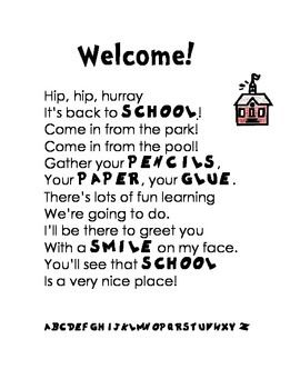Welcome back teachers quotes radiotodorock m4hsunfo