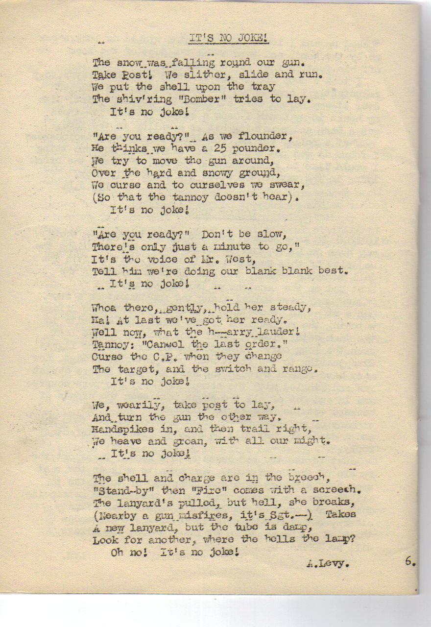 Ww2 Poems