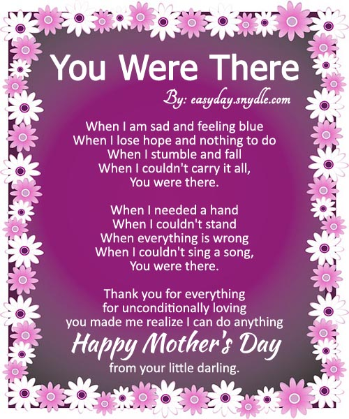 Happy mother day Poems Poems