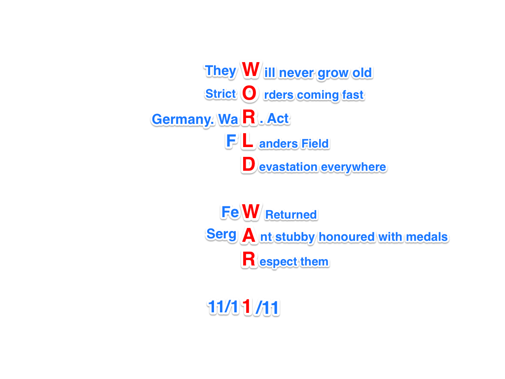 poetry of world war i July 28 marks the 100th anniversary of world war i the military and political c.