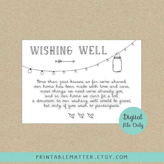 Wishing well Poems Poems