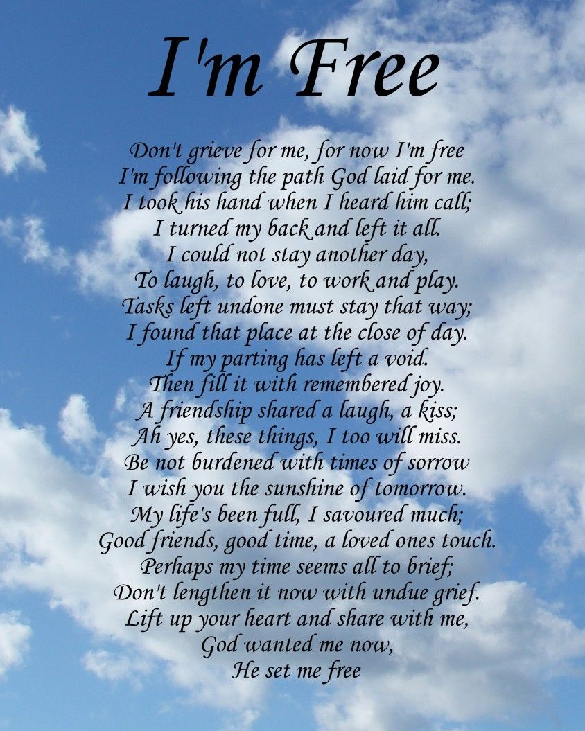 Quotes For Funerals Nice Funeral Poems Poems
