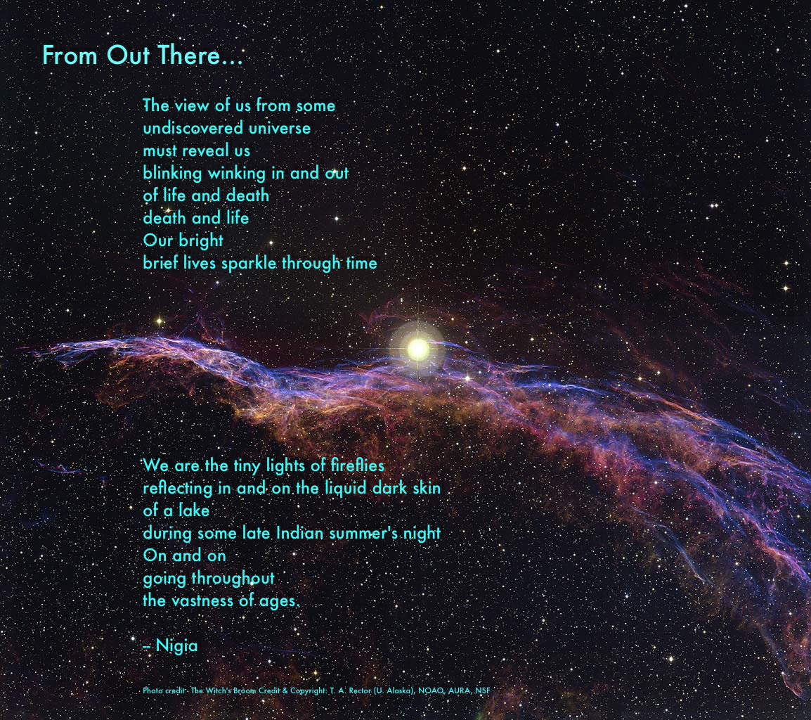 Space poems for About space