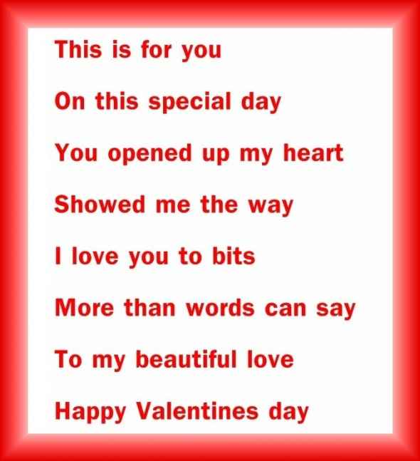 Valentines Poems News Photos Wvphotos