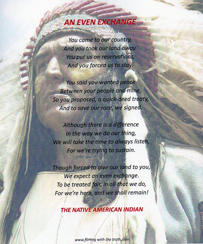 Native American Poems And Prayers