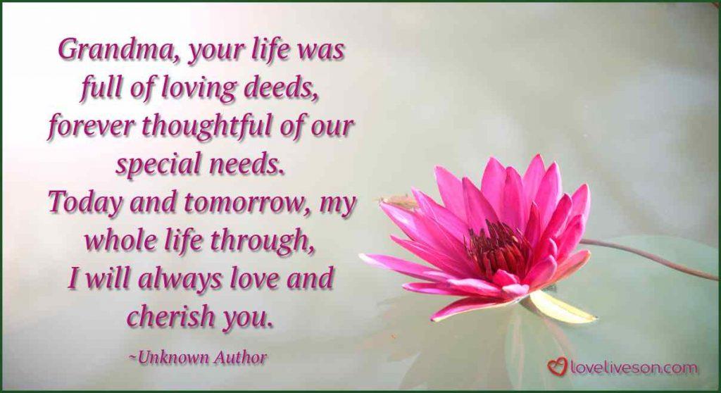 Goodbye grandma Poems