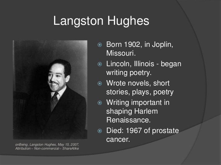 langston hughes harlem renaissance poems poems