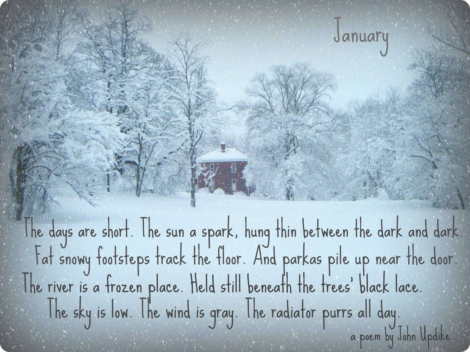 Quotes January January Poems