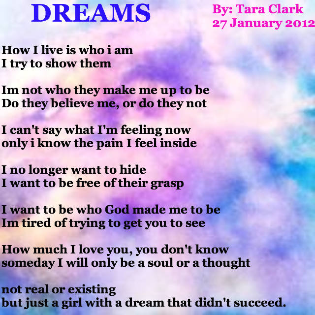 Dreams Poems Poems