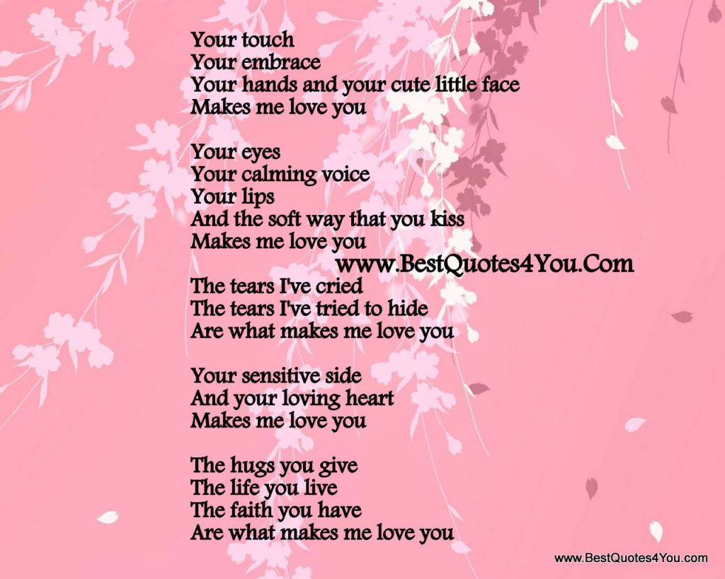 Cute Love Quotes Him Kinky Love Poems Poems