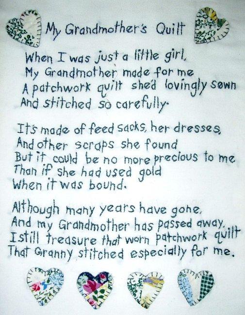 Memory quilt Poems Poems : memorial quilt quotes - Adamdwight.com