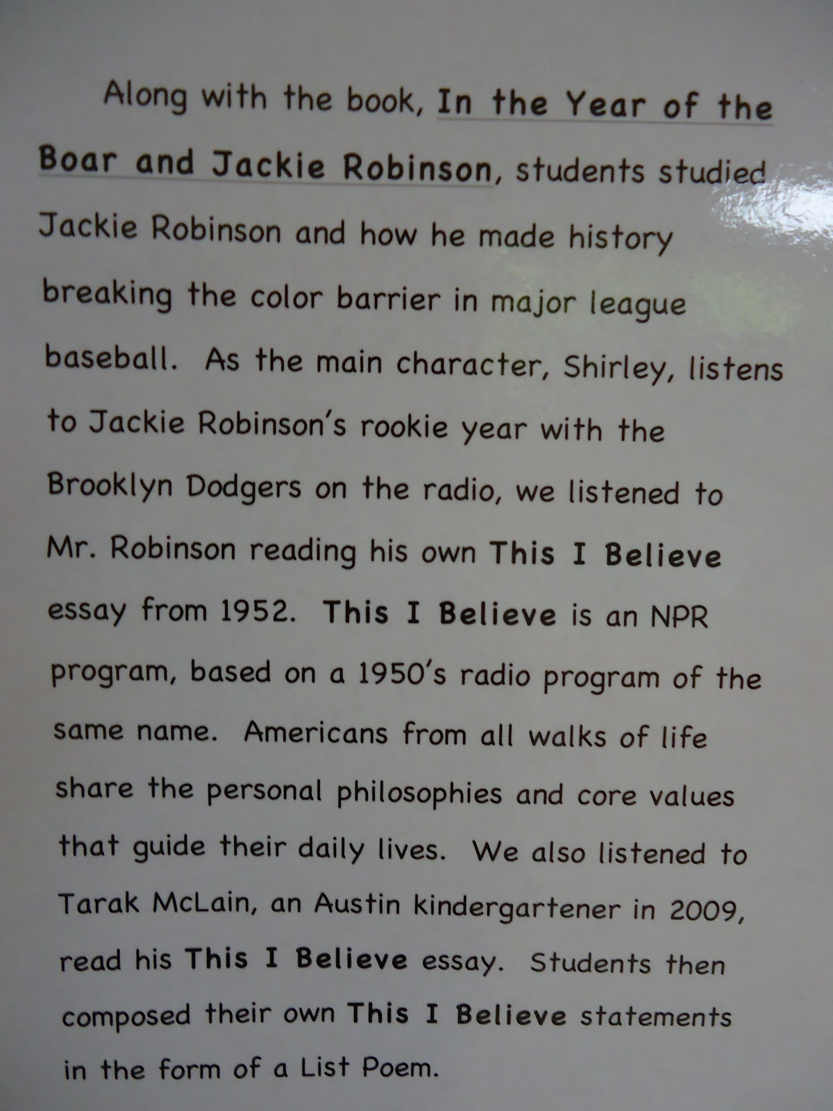 jackie robinson poems poems