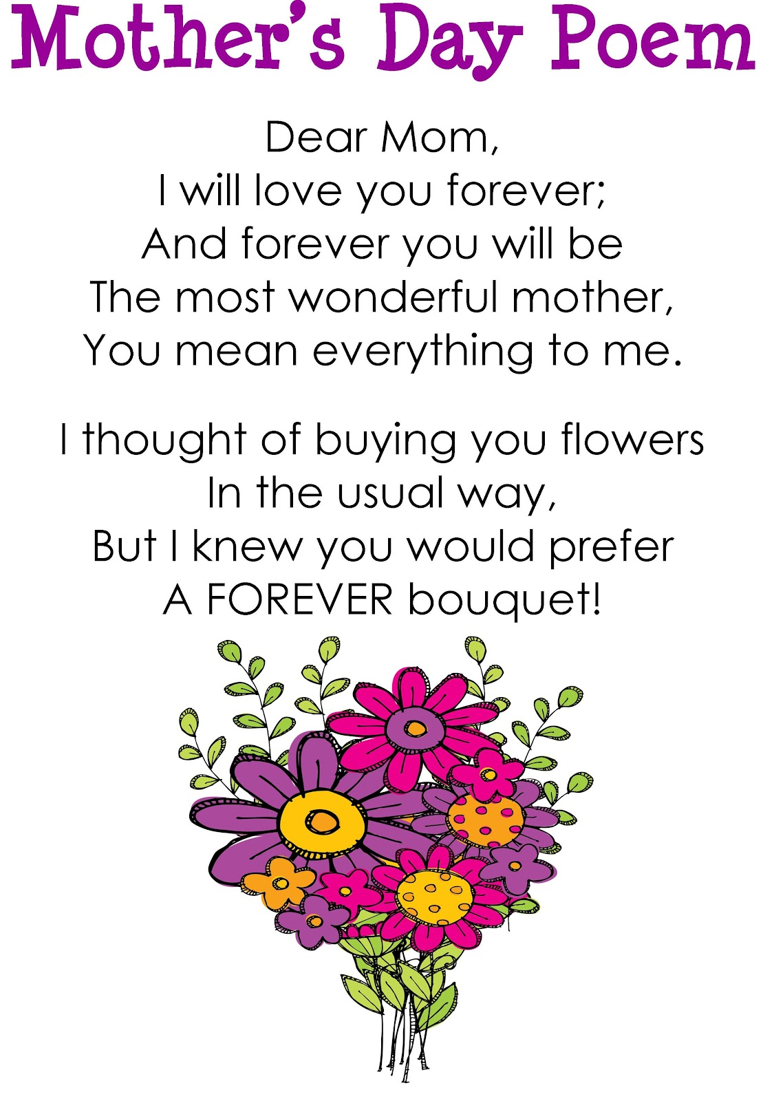 mothers day poems