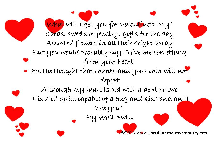 christian valentine poems