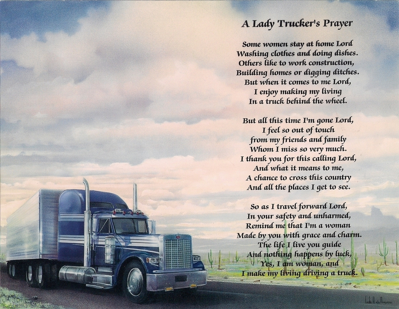 Trucker Quotes Trucking Poems Poems